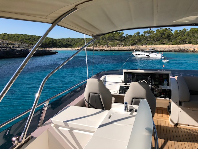 Princess 72 for Charter: 7.-11. AUGUST 2019 6