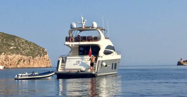 Princess 72 for Charter: 7.-11. AUGUST 2019 3