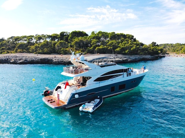 Princess 72 for Charter: 7.-11. AUGUST 2019 1
