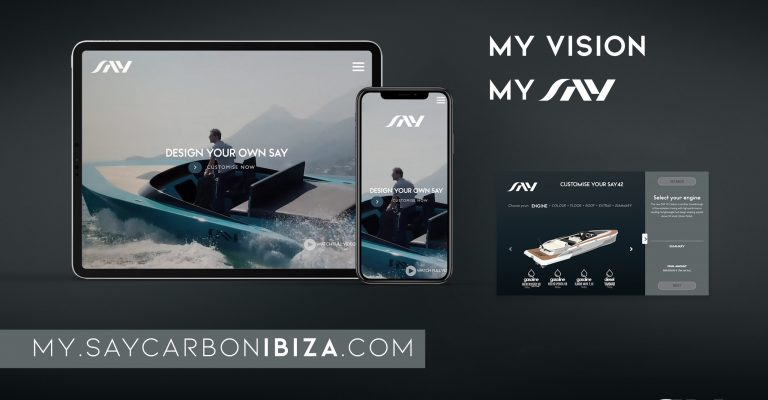 Design your bespoke vision: Our new my.saycarbonibiza.com -Configurator
