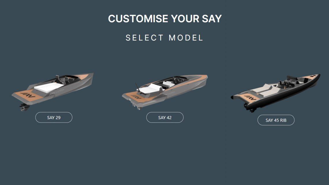 Design your bespoke vision: my.saycarbon.com – Configurator