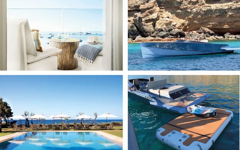 Traslado en yate ecológico: Hotel Nobu x S.E.Yachting